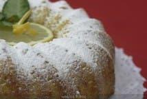 Bizcocho rapido de limon
