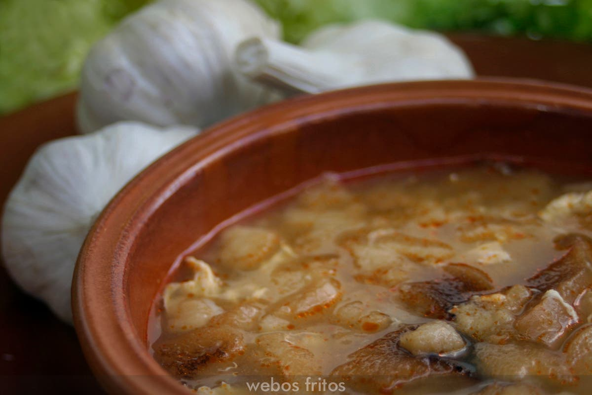 Sopa castellana webos fritos - Sopa castellana youtube ...