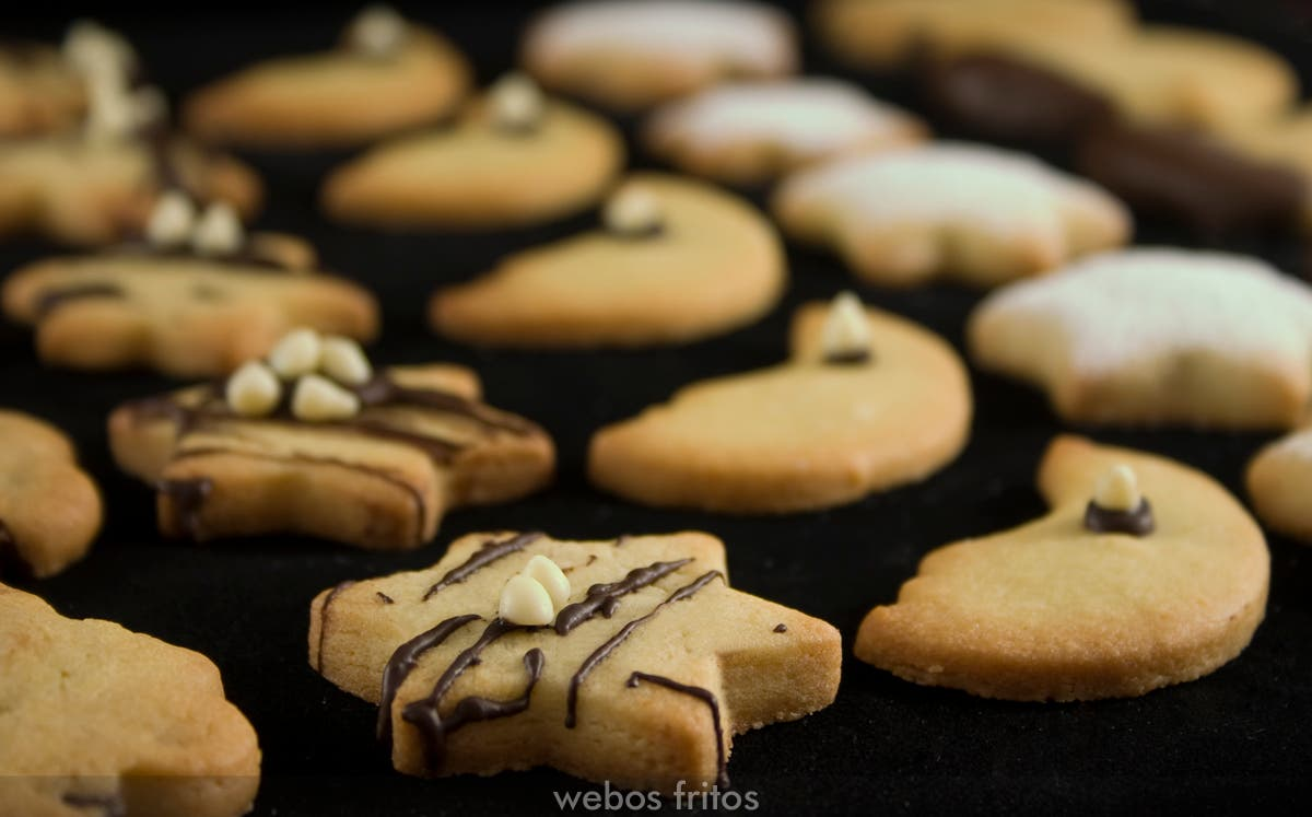 Galletas de mantequilla fáciles | webos fritos