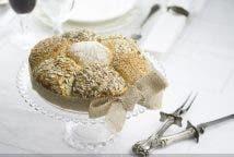 Corona de pan con semillas