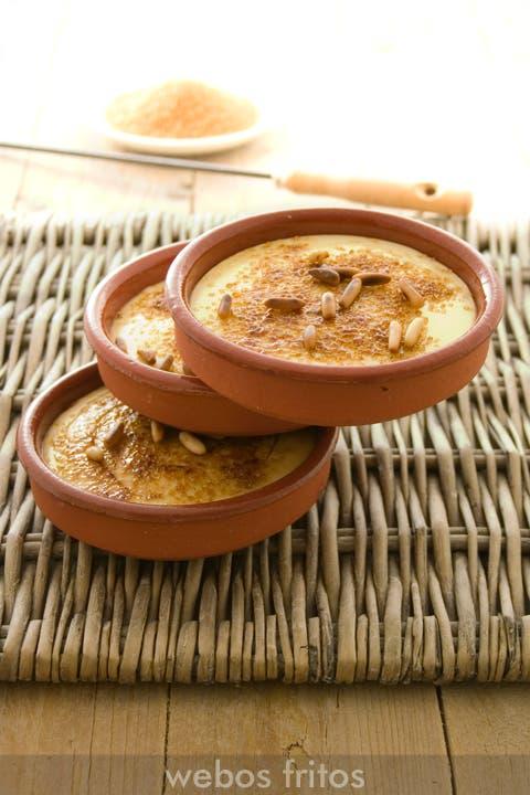 Crema tostada de horchata