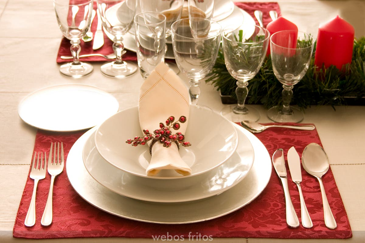 Menu de navidad 2008 webos fritos - Preparar mesa navidad ...