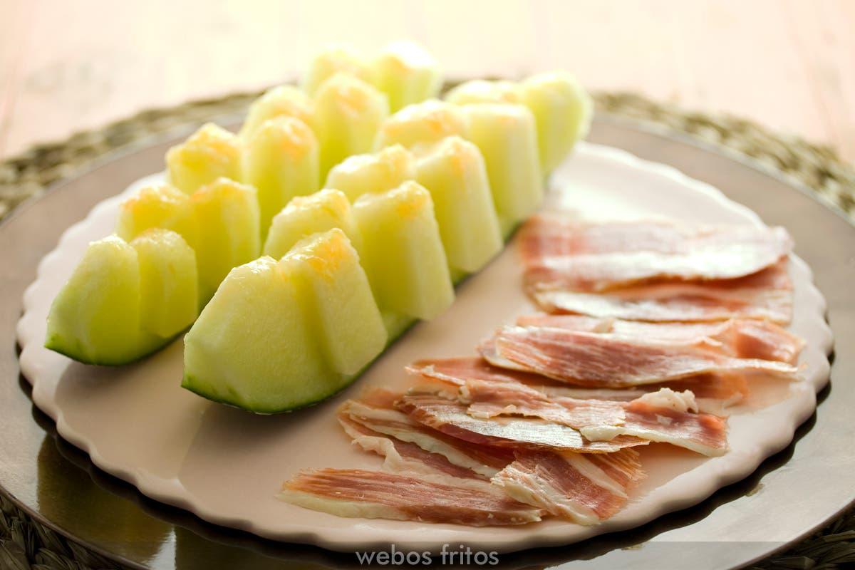 Melón con jamón