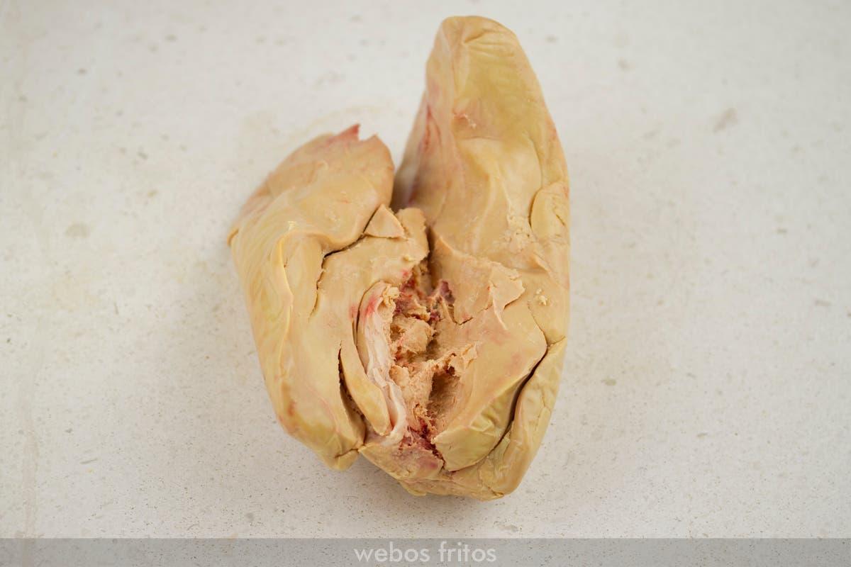 Sacar el foie