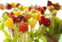 Macetas de frutas