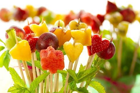 Macetas de frutas webos fritos for Como secar frutas para decoracion