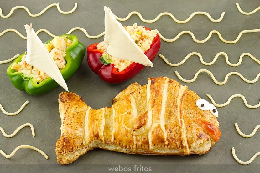 Empanada de sardinillas para niños