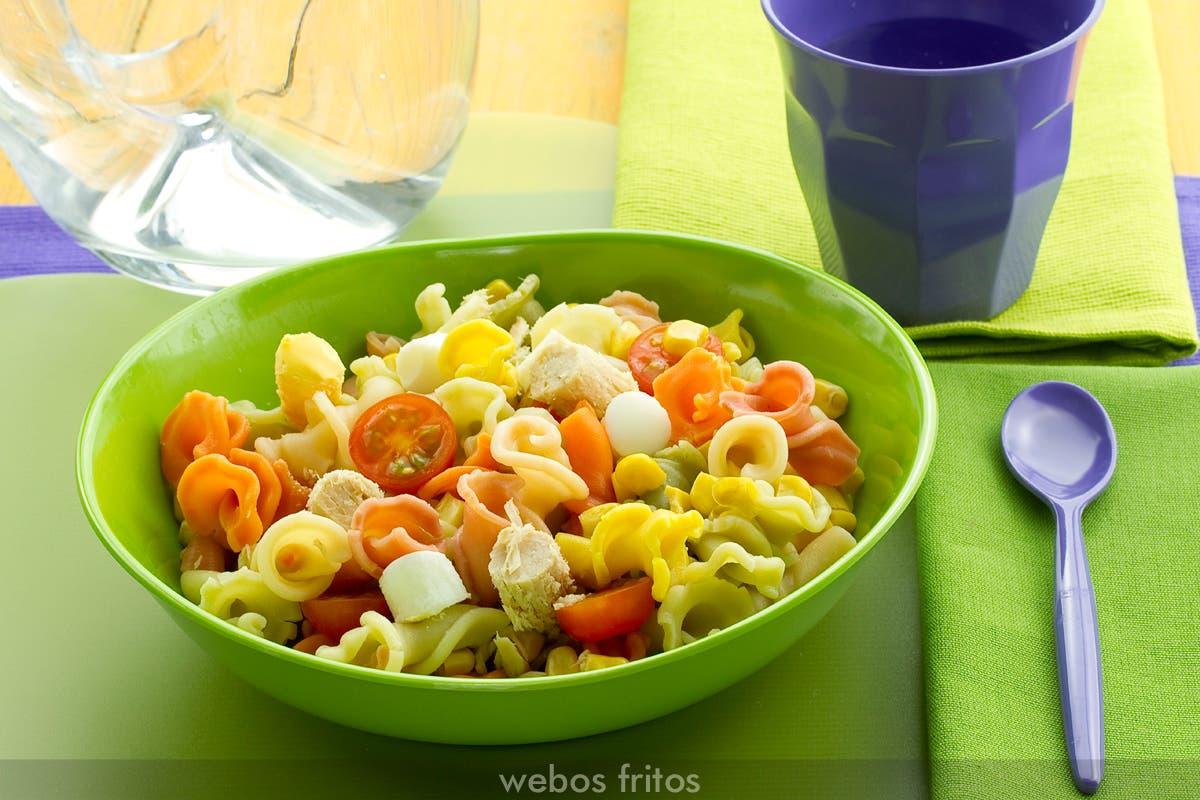 recetas ensaladas para niños