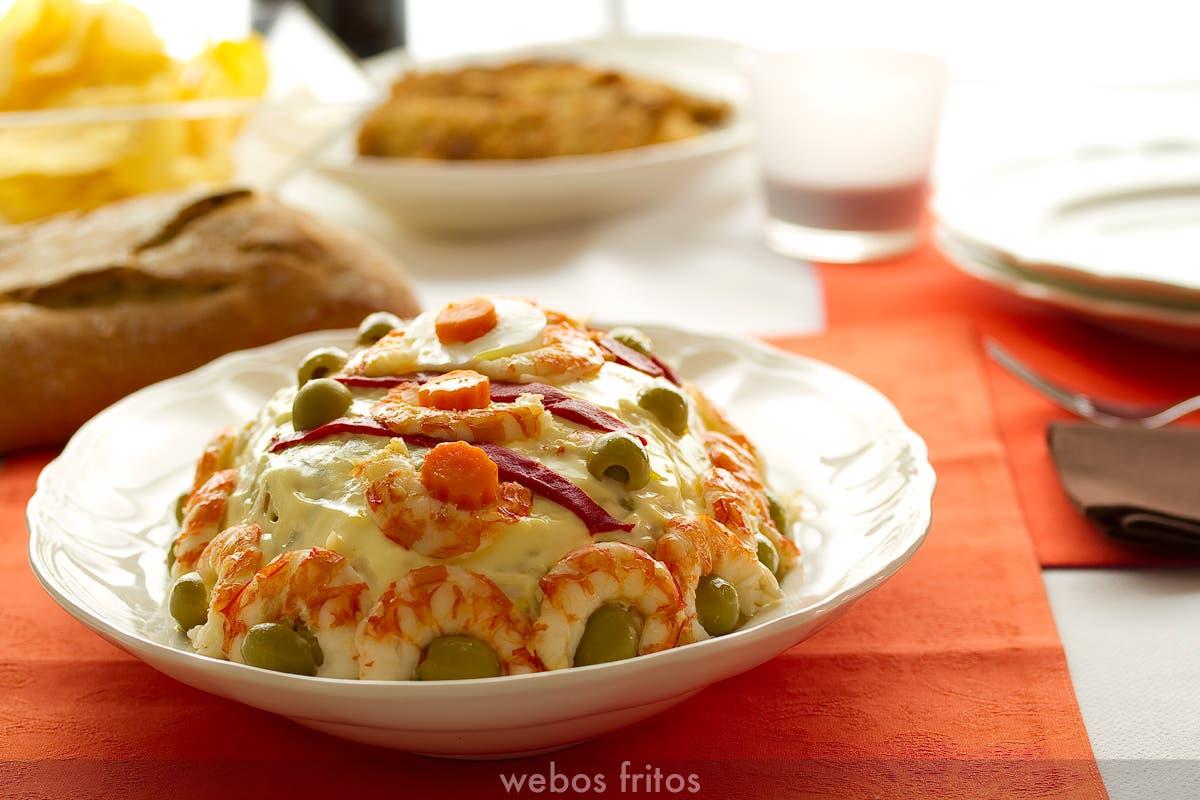 Cocina Rusa Recetas | Receta De Ensaladilla Rusa Webos Fritos