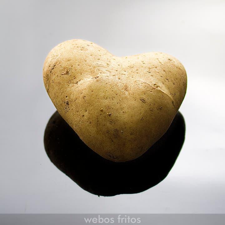 Corazón de patata