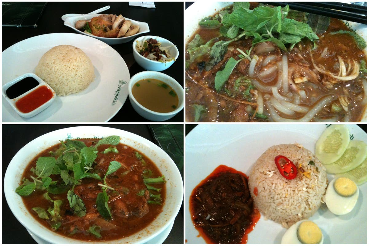 Las comidas de Kuala Lumpur