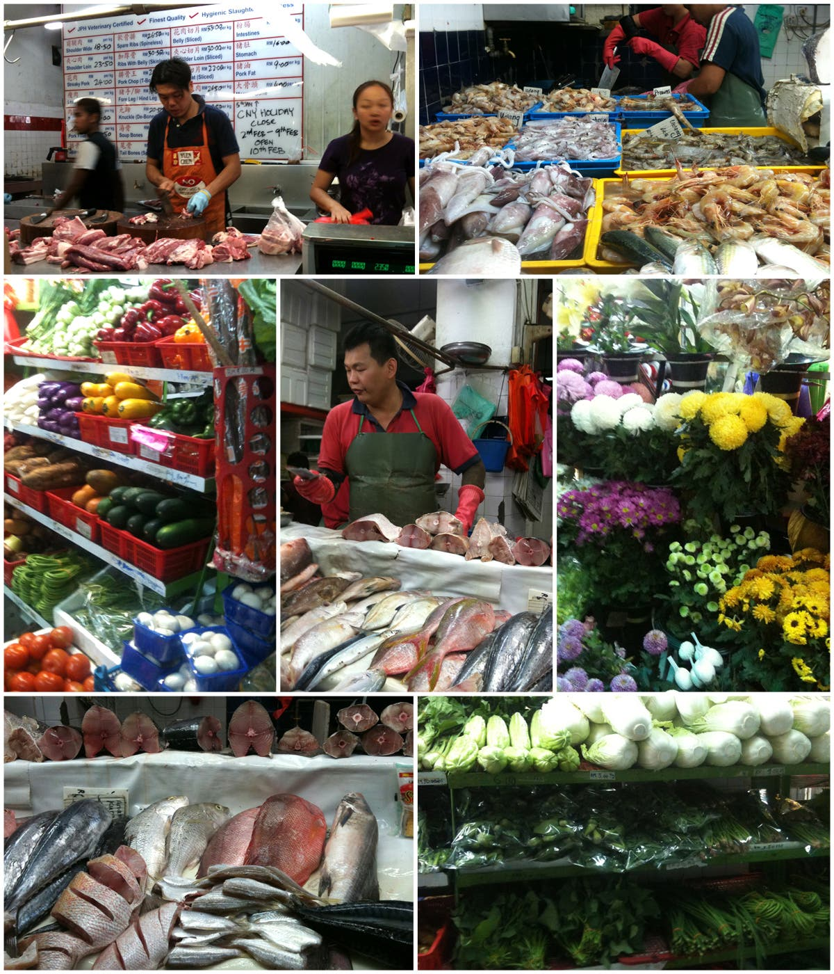 Las compras en Kuala Lumpur