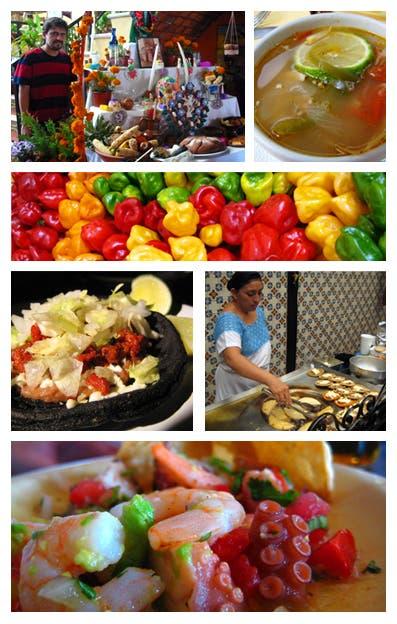 Las comidas de Cancún I