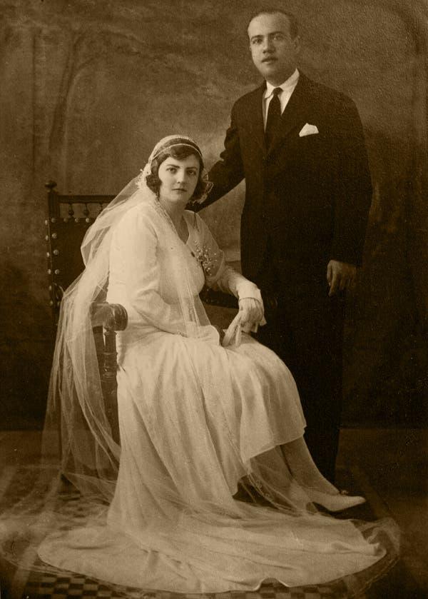 Angustias Velasco y Manuel Valenzuela. Año 1930