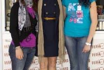 Con Mercedes y Elena