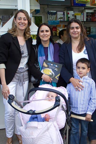 Con Arantxa, Esther, Manu y Candela