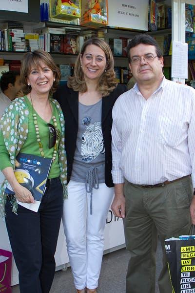 Con Esther y Antonio