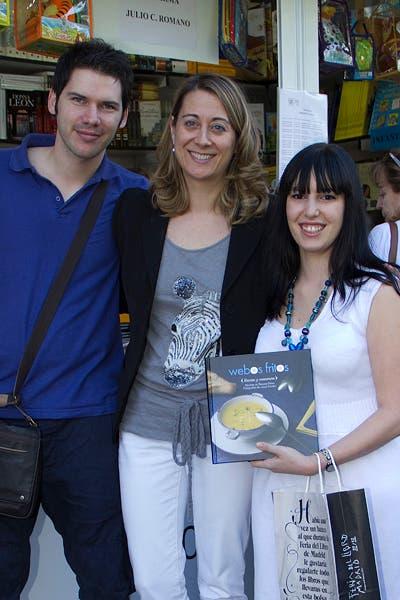 Con Irene y Nicholas