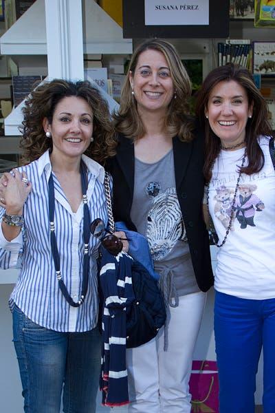 Con María y Carmen
