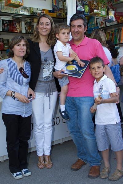 Con Marisa, Carmelo, Carlos y Marcos
