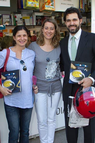 Con Paloma, Luis y Sol