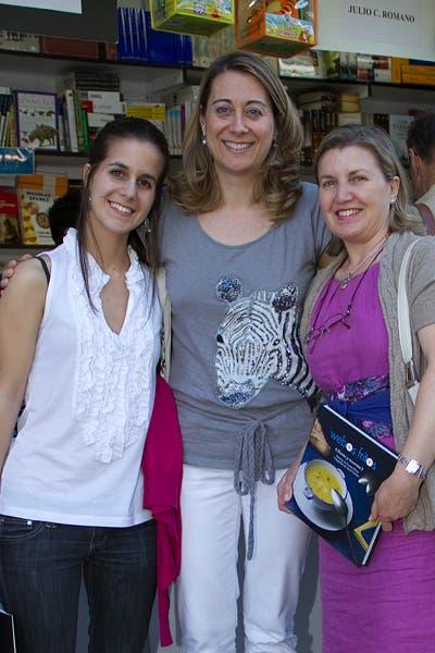 Con Pilar y Mónica