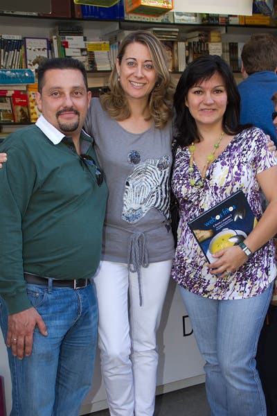 Con Sara y Raúl