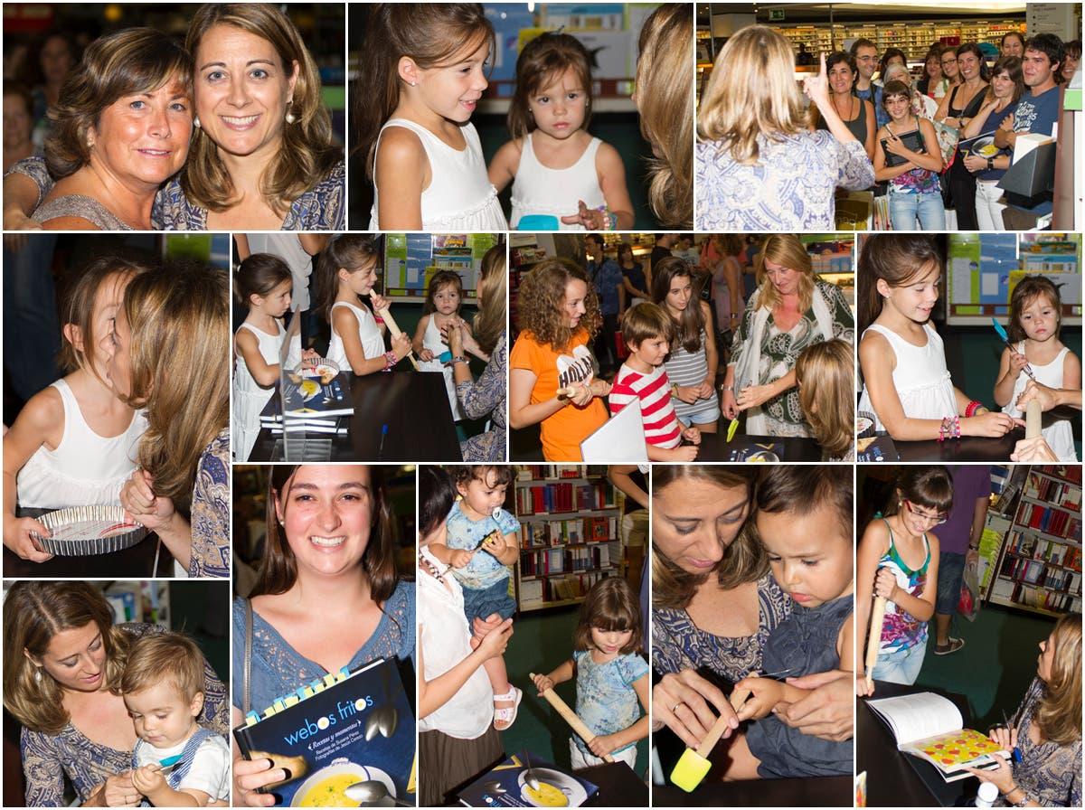 Firma de libros en Barcelona