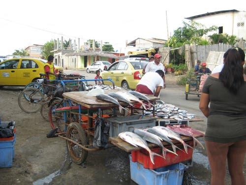 Pescado en la calle