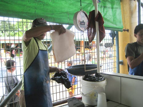 Mercado Calamar paella