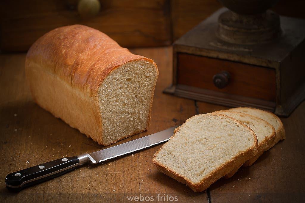 Pan de molde de Francisco Tejero webos fritos