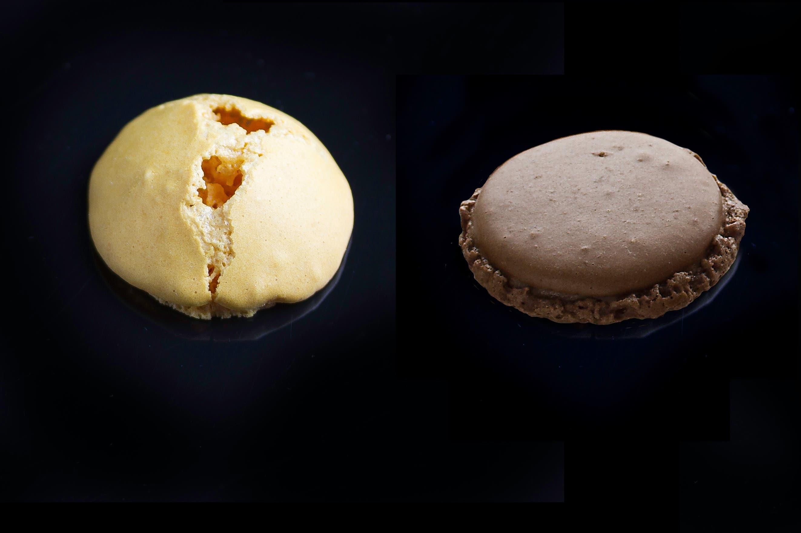 Los errores al hacer macarons miniatura