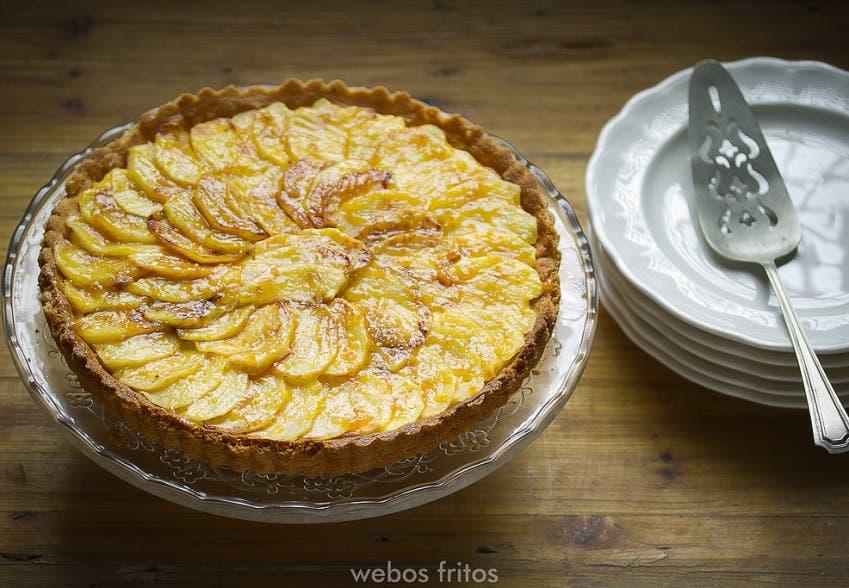 Tarta de manzana sin horno