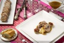 Solomillo de cerdo trufado al Jerez