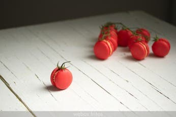 Macarons de gazpacho