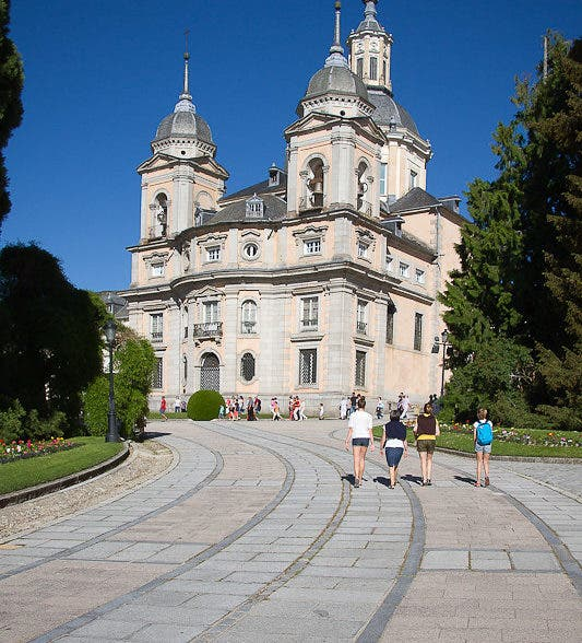 El Palacio de San Ildefonso