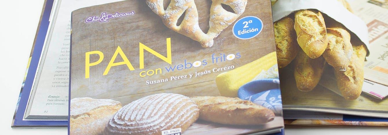 Pan con webos fritos