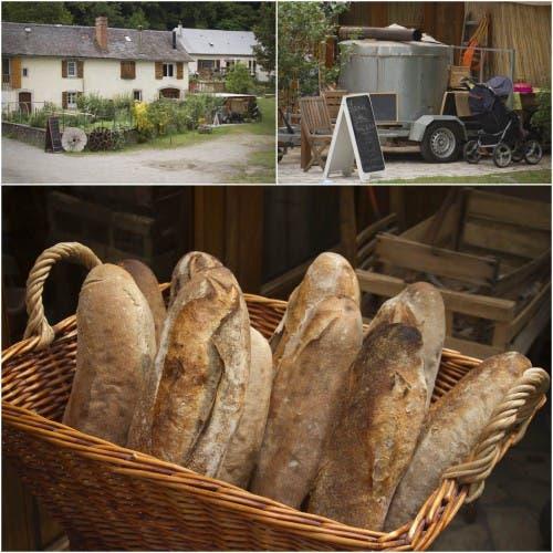Pan de masa madre del Moulin d'Orcun