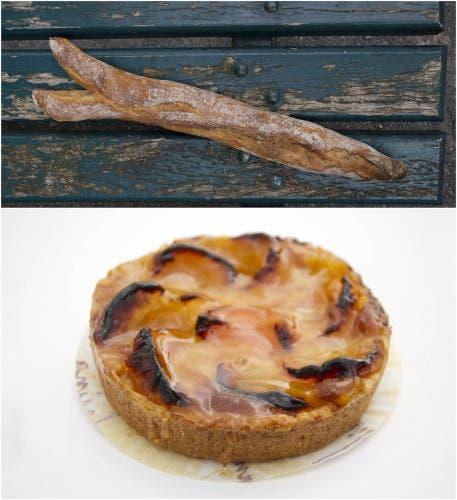 Pan y tarta de Oloron-Sainte-Marie