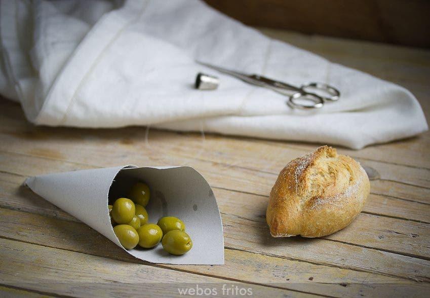 Barritas de pan de masa básica