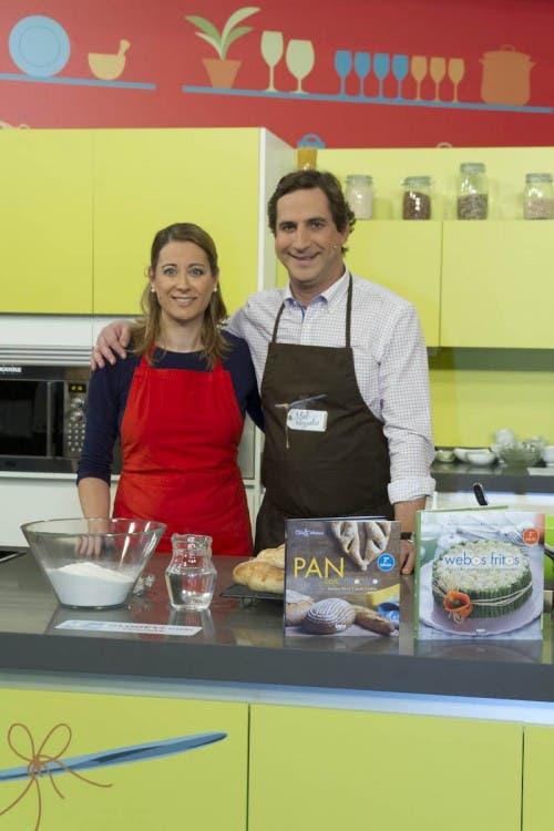 Con Alfonso Hevia en Miel sobre Hojuelas
