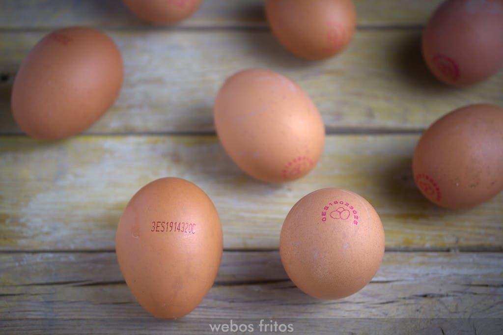 El código que llevan los huevos