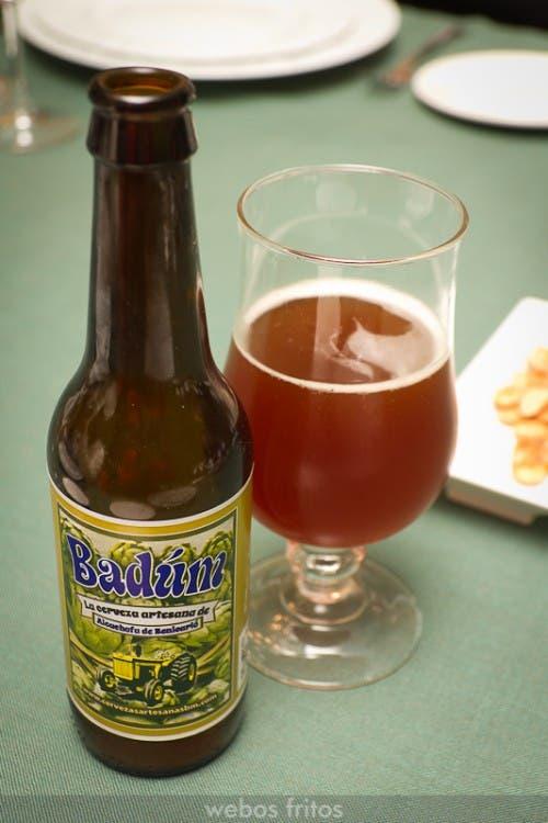 Cerveza artesana de alcachofa de Benicarló Badúm