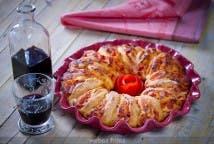 Espirales de beicon y queso