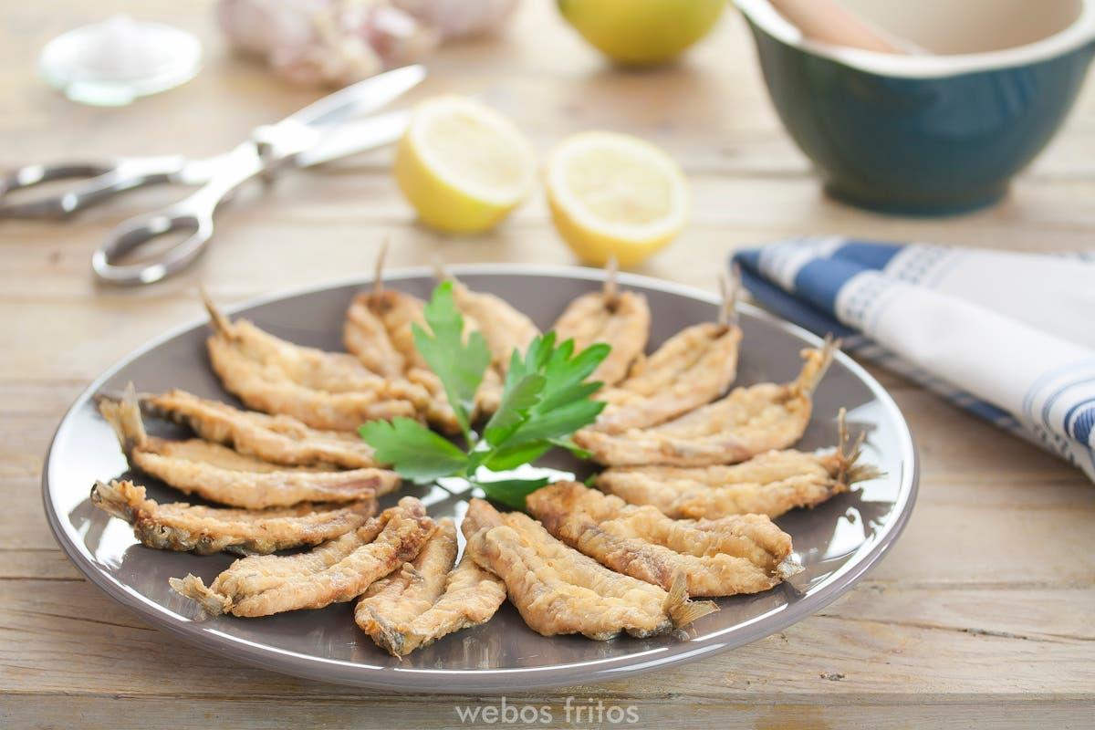 Como Cocinar Boquerones | Boquerones Al Limon Webos Fritos