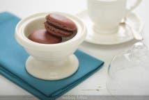 Macarons de chocolate y Nutella