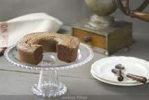Tarta Caprese de chocolate y café