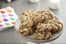 Caracolas de hojaldre y Nutella® - Miniatura