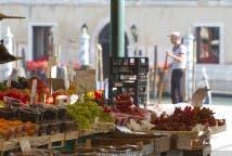 El mercado Rialto de Venecia - Miniatura