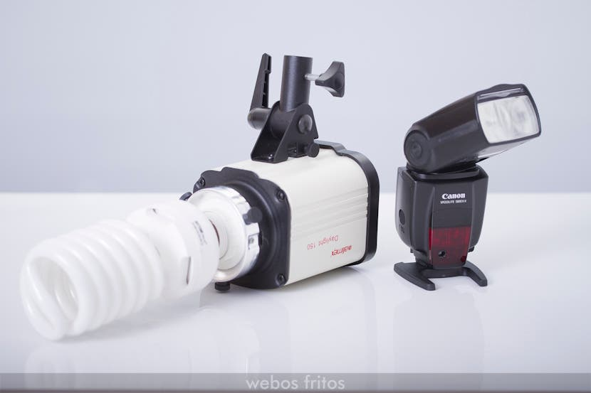 Luces para fotografiar comida